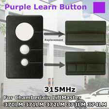 3 Buttons 315mhz Garage Door Opener Remote Control + Clip For Chamberlain  373LM