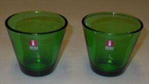 Kaj-Franck-Vintage-Design-Green-Kartio-Dram-Snaps-Tumbler-Iittala-Finland