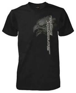 Harley-Davidson-Men-039-s-Screamin-Up-Short-Sleeve-Crew-Neck-T-Shirt-Black-R003404