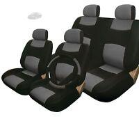 Semi Custom Leatherette Car Seat Covers Split Seat Full Set Bg For Audi