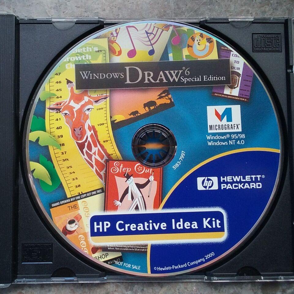 Windows Draw 6, HP Creative Idea Kit