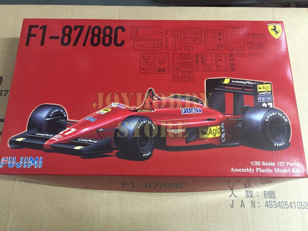 Fujimi 091983 1 20 GP06 F1 Ferrari F1-87 88C Japan   GP Model Kit