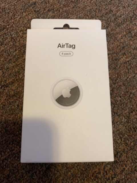 Brand New Apple AirTag 4 Pack MX542AM/A - Authentic Factory Sealed