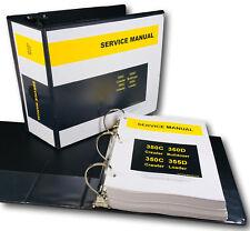 Service Manual John Deere 350c 350d 355d Crawler Bulldozer Loader Repair Shop