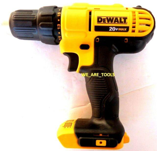 Dewalt 1 2 In 20 Volt Max Variable Speed Brushless Cordless Hammer Drill For Sale Online Ebay