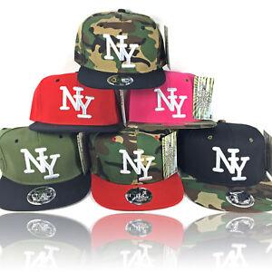 Das Bild wird geladen Snapback-CAP-NY-Baseball-Caps-tarn-Camo-Camouflage- 3e263ca50f