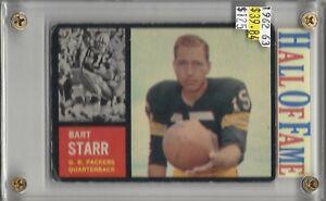 Bart-Starr-Green-Bay-Packers-HOF-1977-1962-Topps-63-BV-125