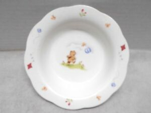 Vintage-1984-Busy-Bear-Bowl-by-Noritake-Bone-China-Japan-Child-039-s-Cereal-Dish