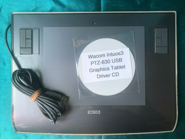 Wacom Intuos 3 PTZ-630 USB Graphics Tablet ONLY, No Accessories