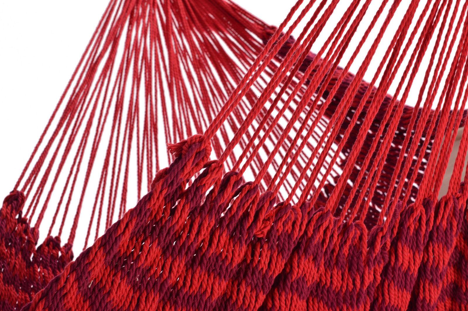 Bio Baumwolle Netz-Hängesessel-Hängesitz Hängestuhl Balao Balao Balao Rubin rot Fair Trade | Roman  | Zart  43c61d