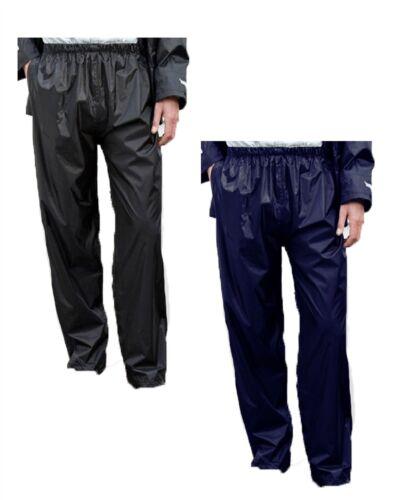 """Mens Waterproof Outdoor Trouser Black//Navy S XXXL 30 to 42/"""" Waist"""