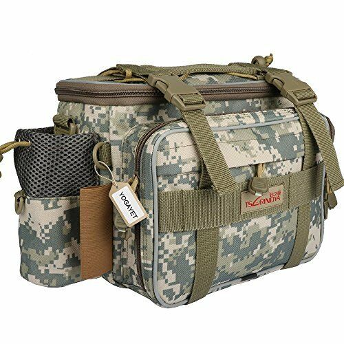 Fishing Bag Portable Outdoor Tackle Multiple Waist Functional Fanny Pack Camo