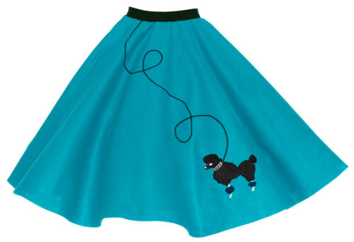 Hip Hop 50s Shop Womens Poodle Skirt Vintage Style Halloween or Dance Costume