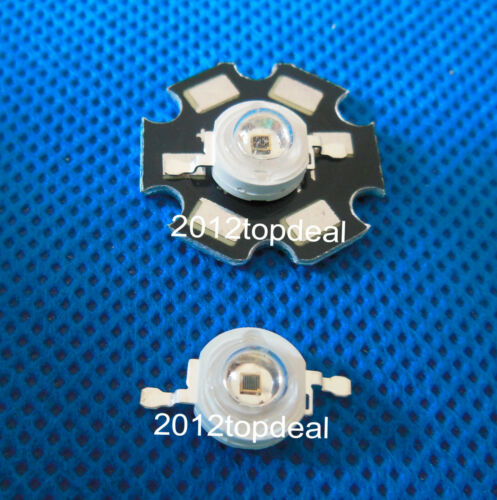 1-50pcs Epistar 1W 3W 5W High Power IR 940nm LED Night Vision Camera Lamp Bulb