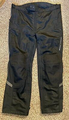 FPT072-0011 Black Airwave 2 Mens Motorcycle Pants REV/'IT