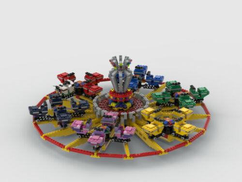 Lego® Kirmes Breakdancer No2 Radscheibe PDF Anleitung!