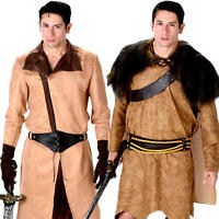 Medieval Mens Fancy Dress Warrior Knight Jaime Game Of Thrones Adults Costumes
