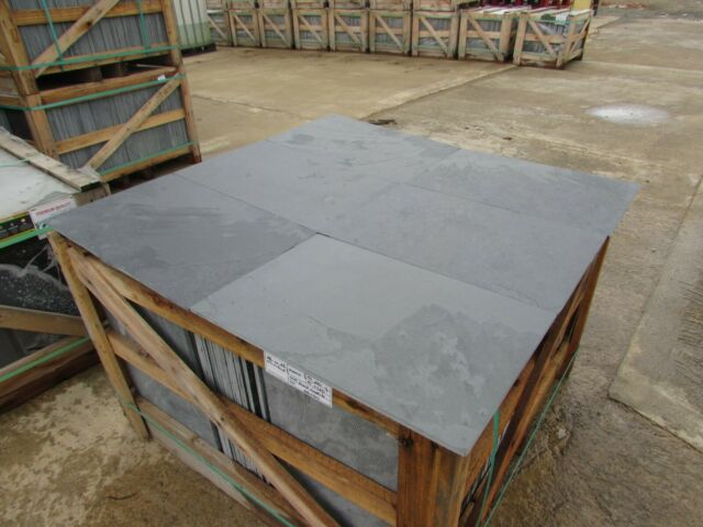 Brazilian Black Calibrated Slate Tiles