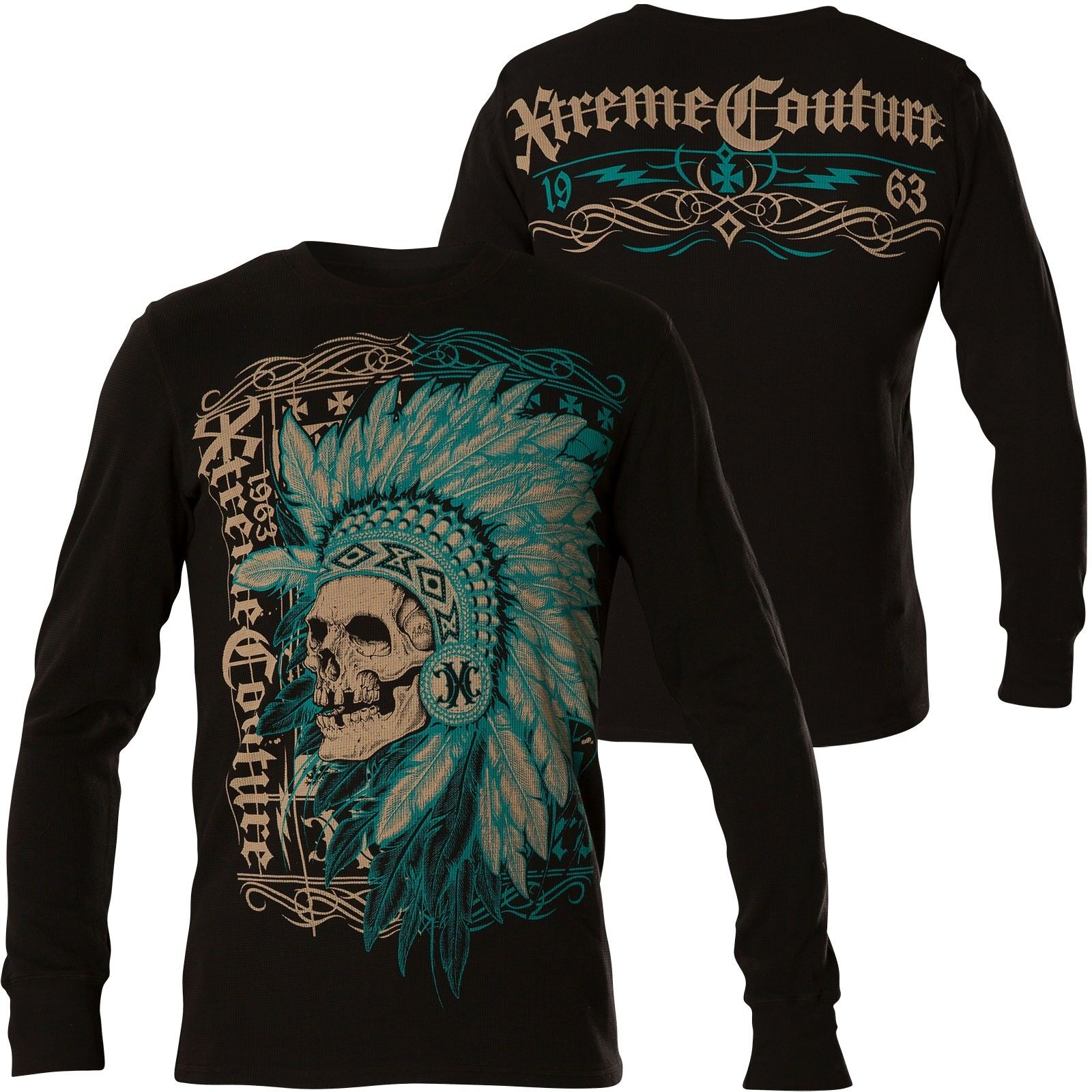 XTREME COUTURE BY AFFLICTION Fighter Pride Schwarz Sweatshirts