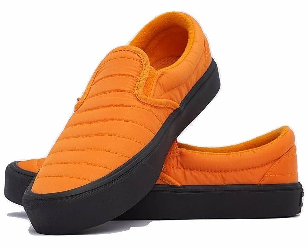 Vans Slip-On Lite (Quilted) Russet arancia nero Dimensione US 7.5 Men's VN0A2Z63UD0