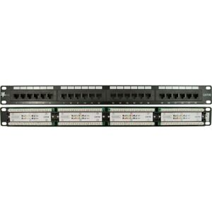 24-Port-Cat5E-Patch-Panel-110-Type-High-Density-19in-Design-IT