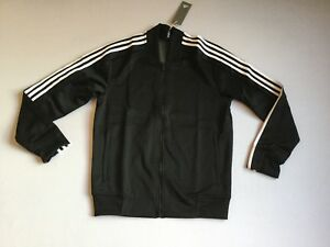 a27a750de8fb Adidas Men s Full Zip Up Squad ID Track Jacket Black White CV3253 ...