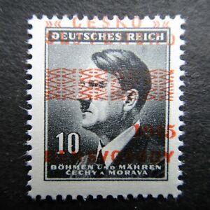 Germany Nazi 1942 1945 Stamp MNH Adolf Hitler Overprint WWII Third Reich German