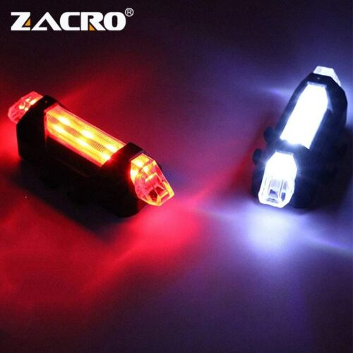 Zacro Bike Bicycle light LED Taillight Rear Tail Safety Warning Cycling