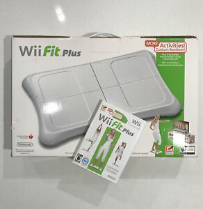 Nintendo Wii Fit Plus Balance Board Bundle + Wii Fit Plus Game Included
