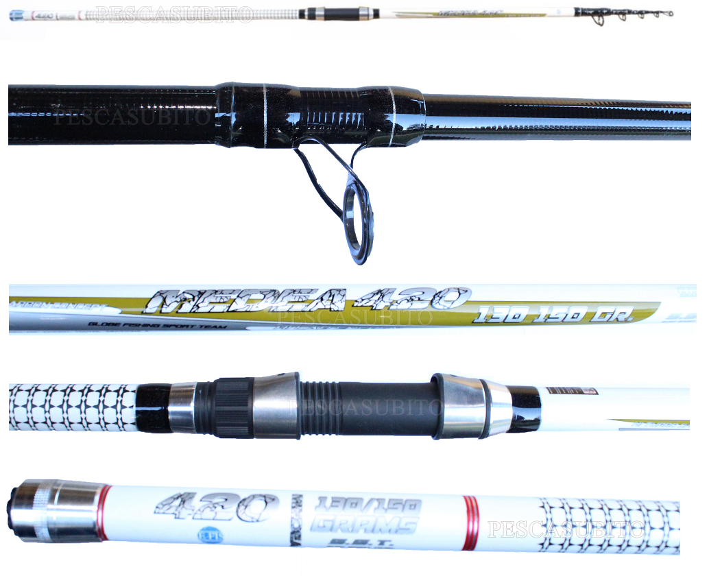 Canna da Pesca Surfcasting in Carbonio Medea 4.20Mt Lancio 130150Gr TP