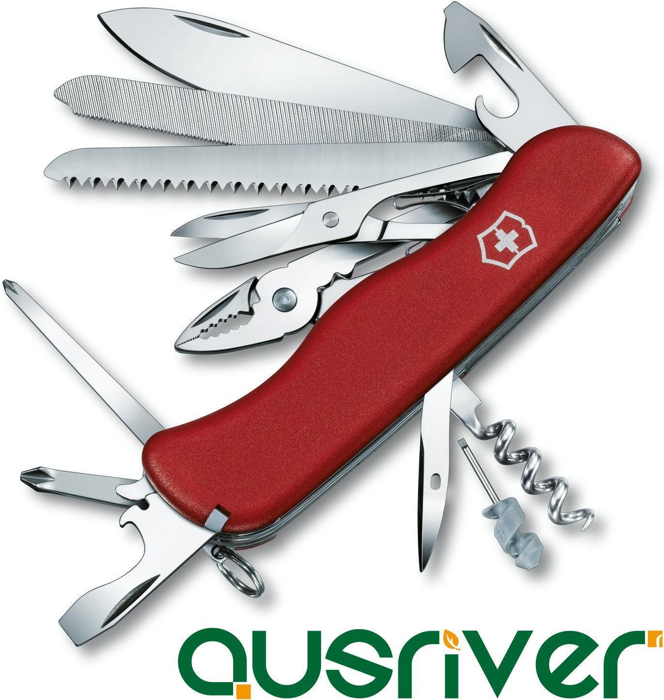 Victorinox Swiss Army Knife 20 En 1 Workchamp 0.9064 111mm Cortar Taladro Sierra Tornillo