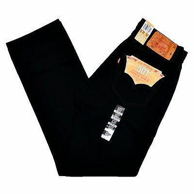 Levis 501 Jeans Jean Black 0660 All Sizes Available