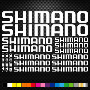 Shimano-16-Stickers-Autocollants-Adhesifs-Vtt-Velo-Mountain-Bike-Dh-Freeride