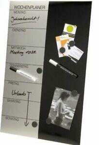 GENIE-Wochenplaner-Magnettafel-Terminplaner-Whiteboard-Wandtafel-Pinnwand-Magnet