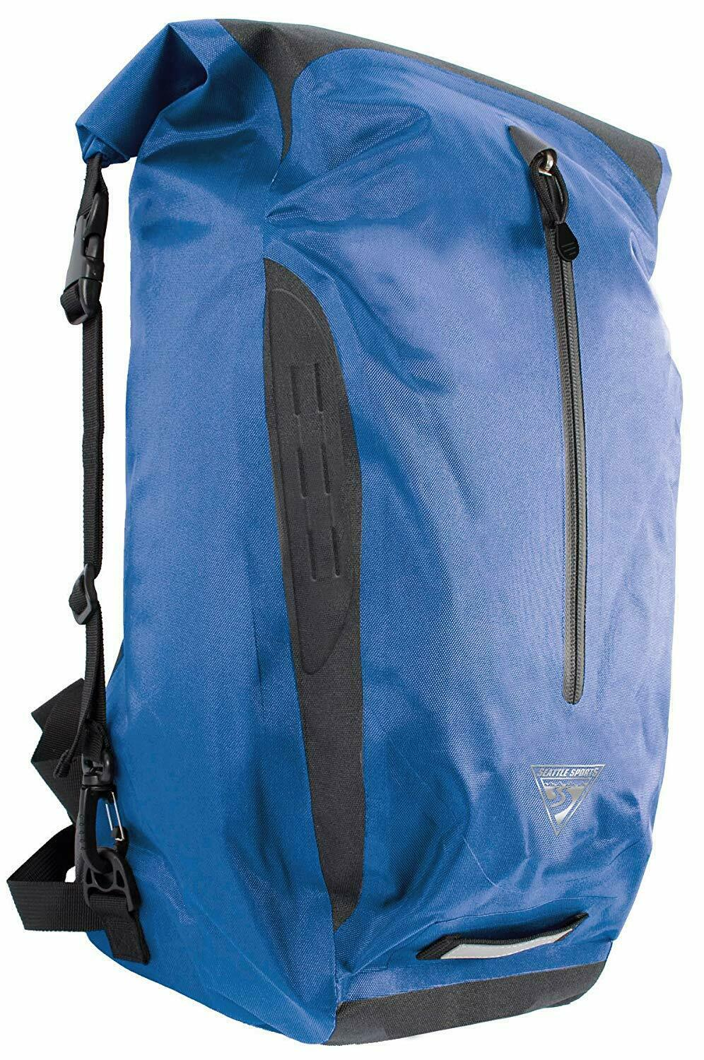 Seattle Sports Reign Dry Bag Backpack, 34L, azul