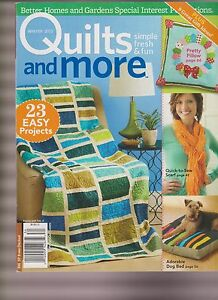 QUILTS AND MORE MAGAZINE WINTER 2013