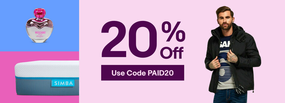 Use Code PAID20 - Get 20% Off! Make Payday Go Further