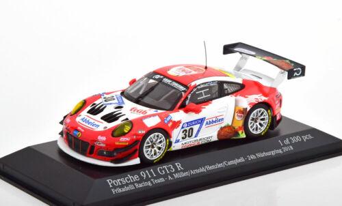 24h nurburgring 2018 1:43 Minichamps Porsche 911 991 gt3 R #30