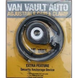 Van-Vault-S10210-5ft-Adjustable-High-Security-Cable-Clamp-CLEARANCE