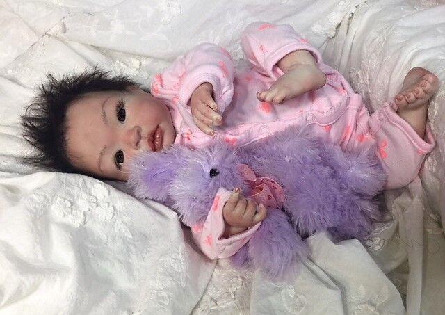 Reborn Bebé niñas  Shyann  - Muñeca terapia para Alzheimers, Niños & necesidades especiales