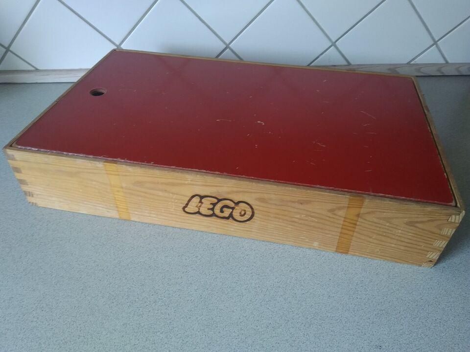 Lego andet, Lego træ kasse og sæk
