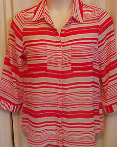 SUZANNE-GRAE-WOMEN-039-S-TOP-SHIRT-SIZE-12-14-very-good-cond