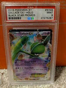 2015 Pokemon Xy Gallade Ex Black Star Promo Holo Psa 9