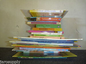 Lot-of-10-Spanish-Espanol-Learn-to-Read-Child-Kids-Picture-ESL-Book-MIX-UNSORTED