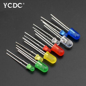 bright led light emitting diode lamp r//g//w//y for arduino diy decoration x100 12
