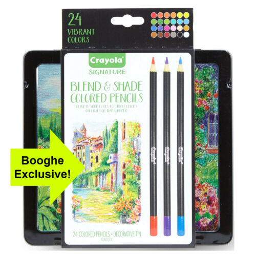 Crayola Blend and Shade Pencils Excellent for blending shading /& adding detail