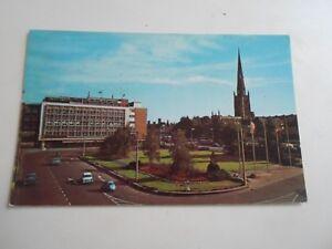 COVENTRY-BROADGATE-Vintage-Colour-Postcard-Franked-1971-B2933