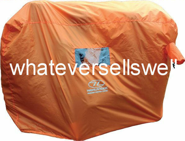 2-3 PERSON Hi Vis GROUP MOUNTAIN BOTHY EMERGENCY SURVIVAL SHELTER is