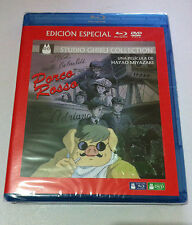 PORCO ROSSO - STUDIO GHIBLI COLLECTION - ED ESPECIAL BLURAY + DVD - NEW & SEALED