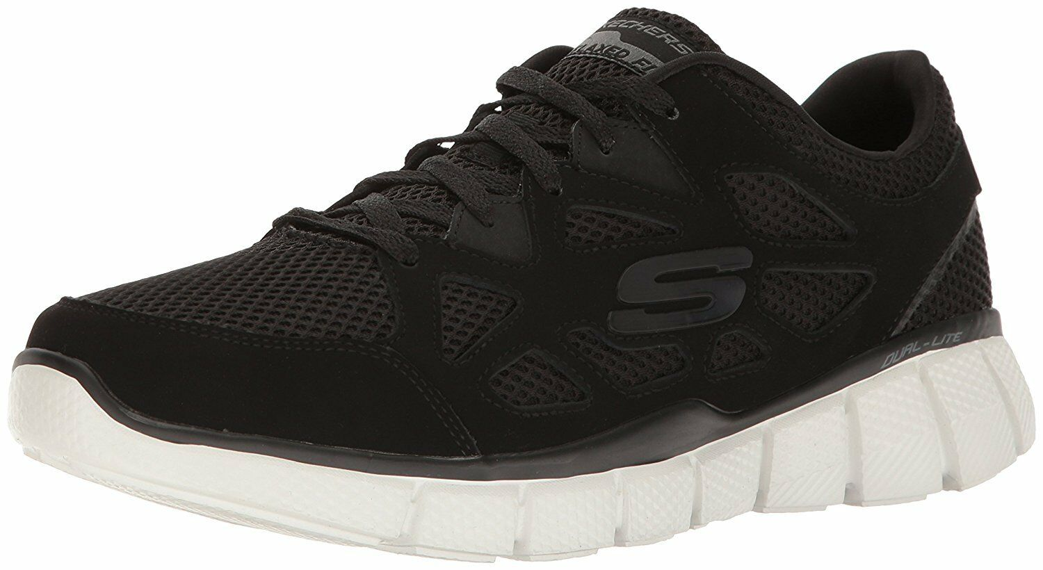 Skechers Equalizer 2.0-Groy, hommes hommes 2.0-Groy, Low-Top, noir Trainers 061f22